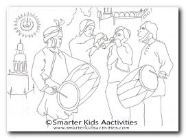 Diwali Colouring Pages Smarter Kids Activities